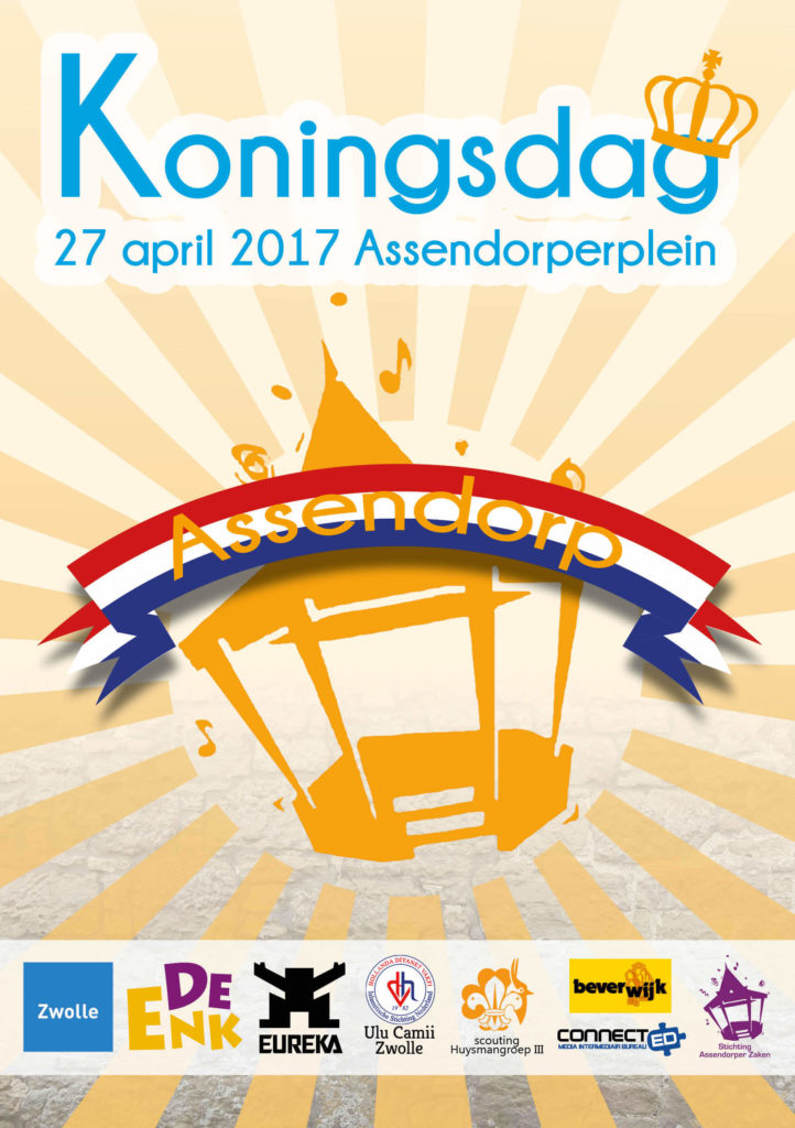 koningsdag assendorp 2017 assendorperplein flyer voorzijde